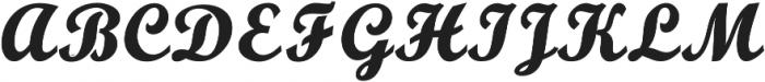 Adamina otf (400) Font UPPERCASE
