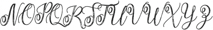 Adasmine Textured otf (400) Font UPPERCASE