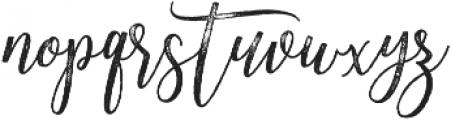 Adasmine Textured otf (400) Font LOWERCASE