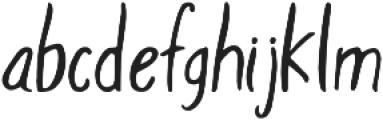 Adden otf (400) Font LOWERCASE