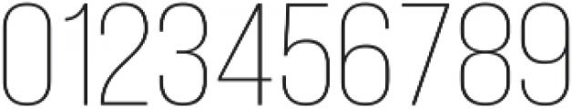 Adderley Light otf (300) Font OTHER CHARS
