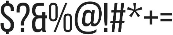 Adderley Regular otf (400) Font OTHER CHARS