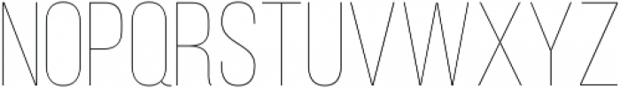 Adderley Thin otf (100) Font LOWERCASE