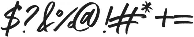 Addictive otf (400) Font OTHER CHARS