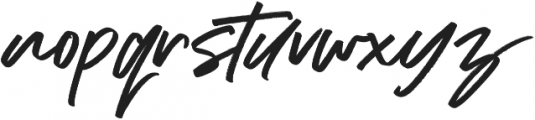 Addictive otf (400) Font LOWERCASE