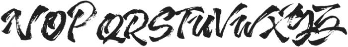Addictype otf (400) Font UPPERCASE