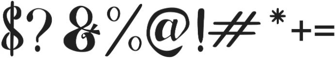 Adefebia Left Swashes otf (400) Font OTHER CHARS