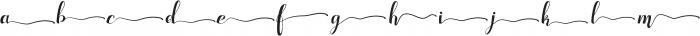 Adefebia Right Swashes otf (400) Font LOWERCASE