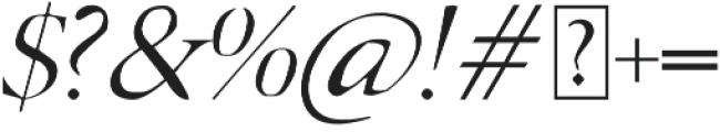 Adelaide italic otf (400) Font OTHER CHARS