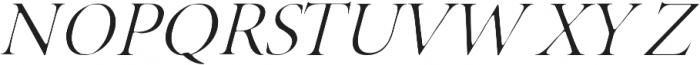 Adelaide italic otf (400) Font UPPERCASE