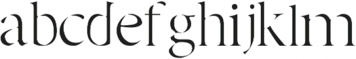 Adelaide otf (400) Font LOWERCASE