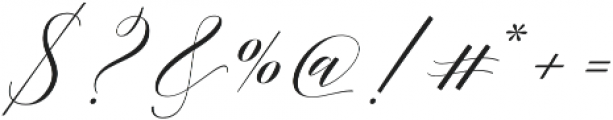 Adelicia Script Clean otf (400) Font OTHER CHARS