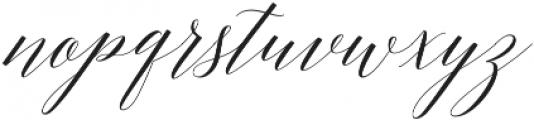 Adelicia Script Clean otf (400) Font LOWERCASE