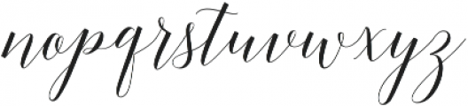 Adelicia Script Slant otf (400) Font LOWERCASE