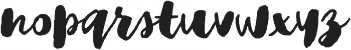 Adelina script Regular otf (400) Font LOWERCASE