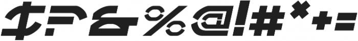 Adelion Italic otf (400) Font OTHER CHARS