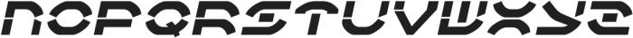 Adelion Italic otf (400) Font UPPERCASE
