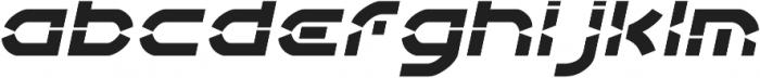 Adelion Italic otf (400) Font LOWERCASE