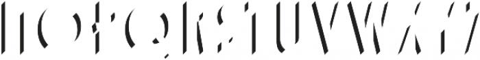 Adelios Highlight otf (300) Font UPPERCASE