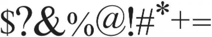Adeliya otf (400) Font OTHER CHARS