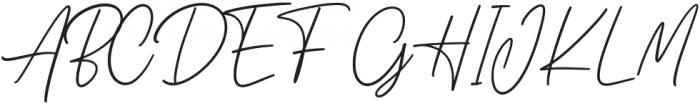 Adelyne otf (400) Font UPPERCASE