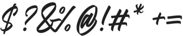 Adevale otf (400) Font OTHER CHARS