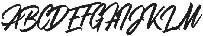 Adevale otf (400) Font UPPERCASE