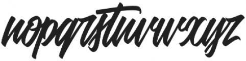 Adevale otf (400) Font LOWERCASE