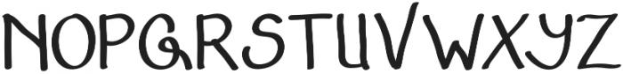 Adfonture Typeface otf (400) Font UPPERCASE