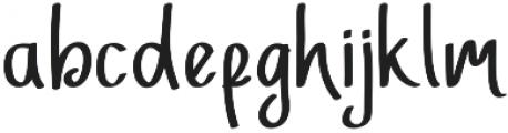 Adfonture Typeface otf (400) Font LOWERCASE