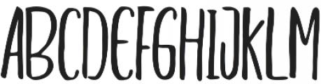 Adheana Font Duo Regular otf (400) Font UPPERCASE