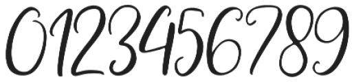 Adheana Script Italic Regular otf (400) Font OTHER CHARS