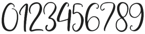 Adheana Script Regular otf (400) Font OTHER CHARS