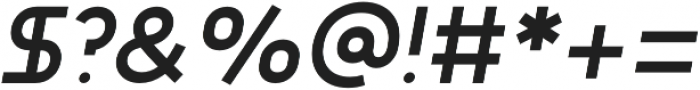 Adita Extra Light Italic otf (200) Font OTHER CHARS