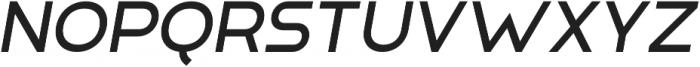 Adita Extra Light Italic otf (200) Font UPPERCASE