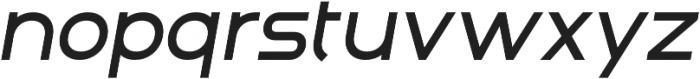 Adita Extra Light Italic otf (200) Font LOWERCASE