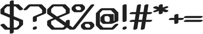 Adjuster otf (400) Font OTHER CHARS