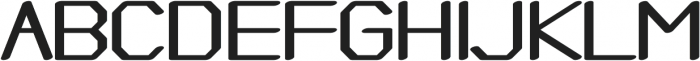 Adjuster otf (400) Font UPPERCASE