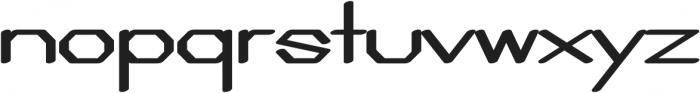 Adjuster otf (400) Font LOWERCASE