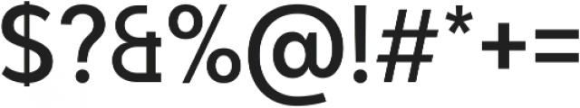 Adlinnaka Condensed Medium ttf (500) Font OTHER CHARS