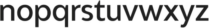 Adlinnaka Condensed Medium ttf (500) Font LOWERCASE