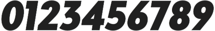 Adlinnaka Condensed Oblique Black otf (900) Font OTHER CHARS