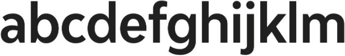 Adlinnaka Condensed Semi Bold ttf (600) Font LOWERCASE
