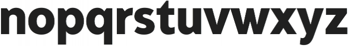 Adlinnaka Condensed Ultra Bold ttf (700) Font LOWERCASE