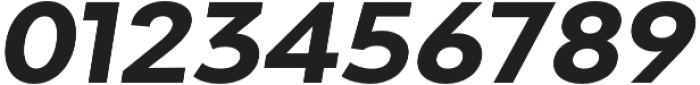 Adlinnaka Expanded Oblique Bold otf (700) Font OTHER CHARS