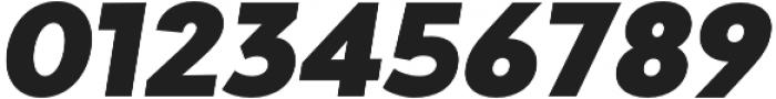 Adlinnaka Oblique Black otf (900) Font OTHER CHARS