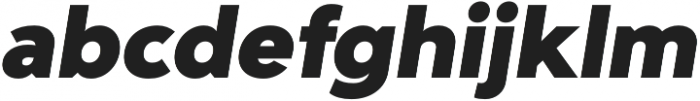 Adlinnaka Oblique Black otf (900) Font LOWERCASE