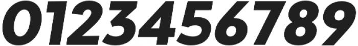 Adlinnaka Oblique Ultra Bold otf (700) Font OTHER CHARS