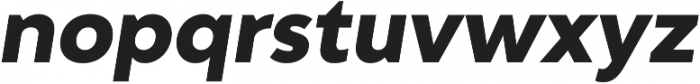 Adlinnaka Oblique Ultra Bold otf (700) Font LOWERCASE