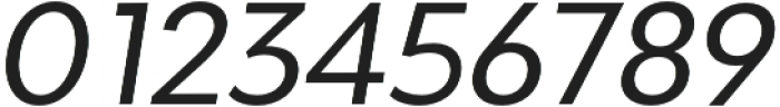Adlinnaka Oblique otf (400) Font OTHER CHARS